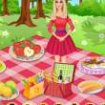 Barbie la picnic