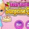 Baby Barbie Surprise Cake