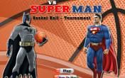 Basketball mit Superman