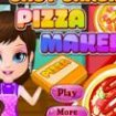 Barbie face pizza