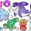 Color of aquatic animals