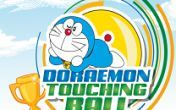 Doraemon toucing ball