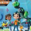 Rusty rivets de colorat