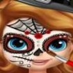 Sofia picturi pe fata de halloween