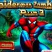 Spiderman fuge de zombie