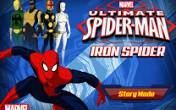 Ultimate SpiderMan Iron Spider